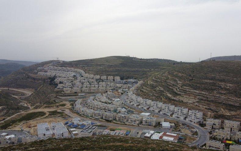 Jewish settlement of Givat Zeev near Ramallah