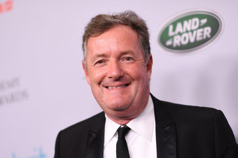 Piers Morgan arrives for BAFTA awards