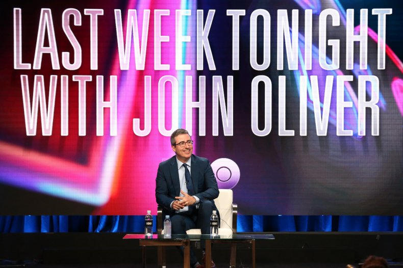 John Oliver 2018 California show tour