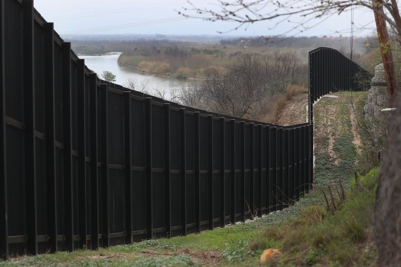 U.S.-Mexico border in Eagle Pass, Texas