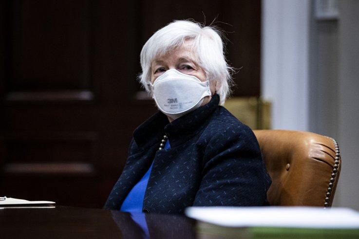 Janet Yellen, Treasury, Coronavirus, Economy