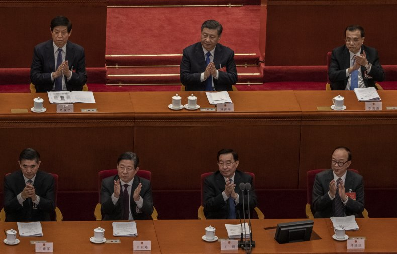 china, national, peoples, congress, li, zhanshu