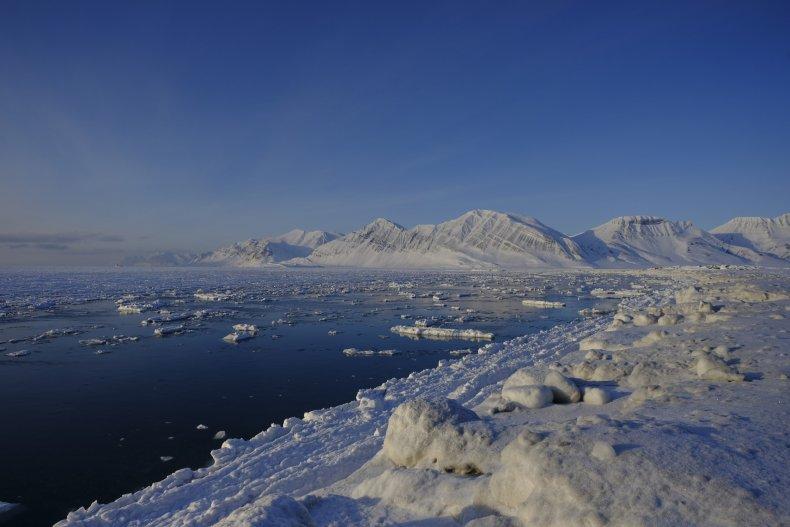 Ice Melting in Svalbard