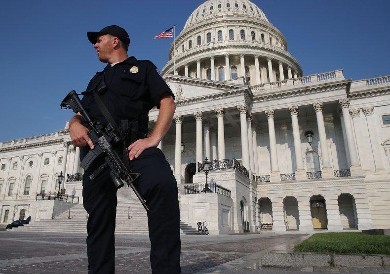 Democrats withdraw bill honor Capitol Police Republicans