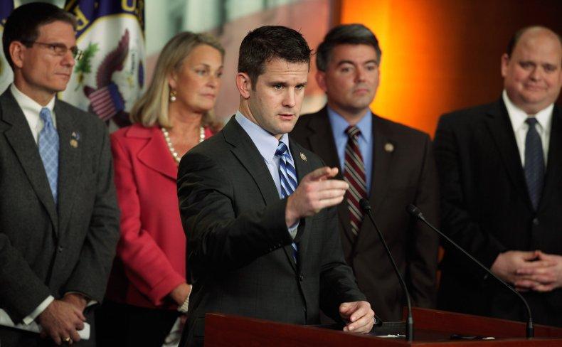 Rep. Adam Kinzinger Hosts a News Conference