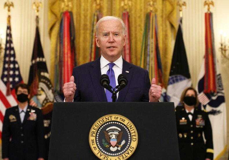 Biden Delivers Remarks on International Women's Day