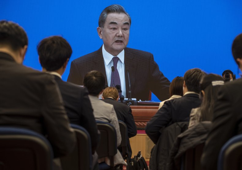 Chinese Foreign Minister Wang Yi Attends Conference