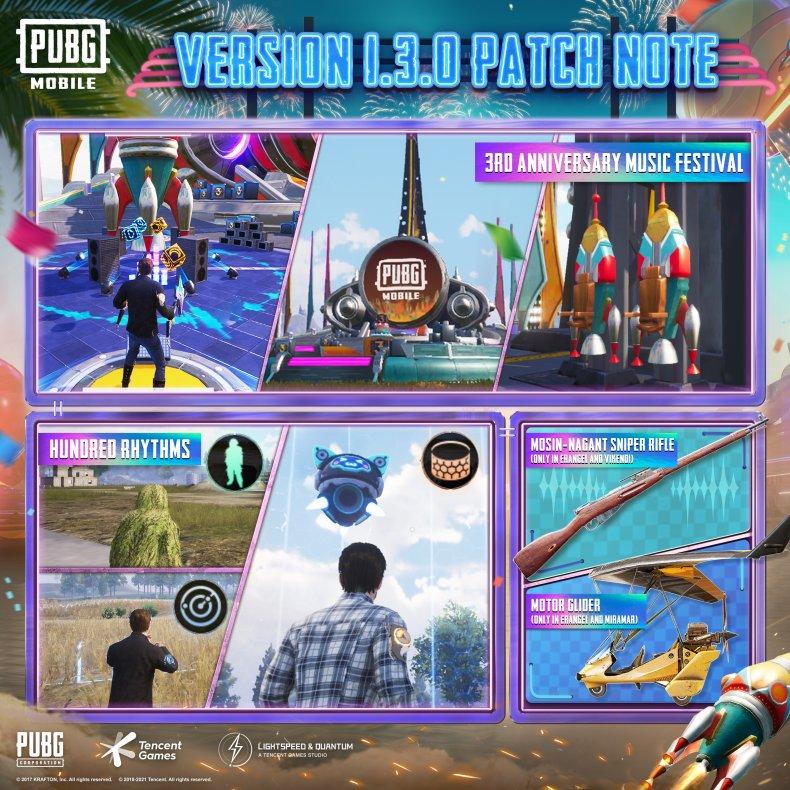 pubg mobile 13 patch notes