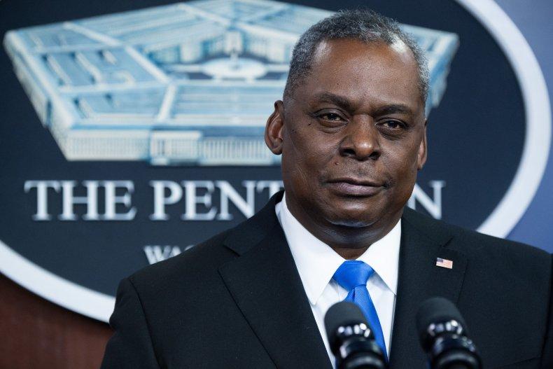 Defense Secretary Lloyd Austin Addresses Press