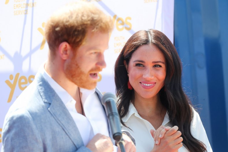 Meghan Markle, Prince Harry in South Africa