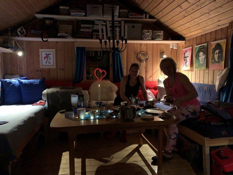 Middag, or midday, in Svalbard