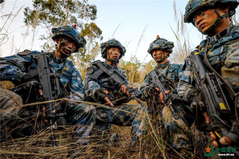 china, peoples, liberation, army, marine, corps
