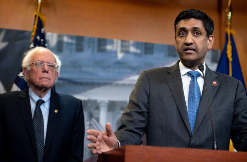 Bernie Sanders and Ro Khanna