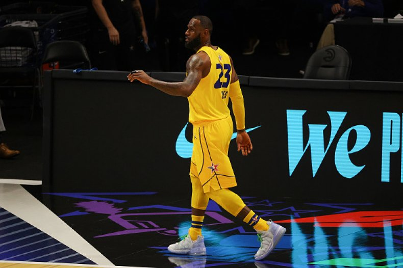 LeBron James NBA All-Star Game