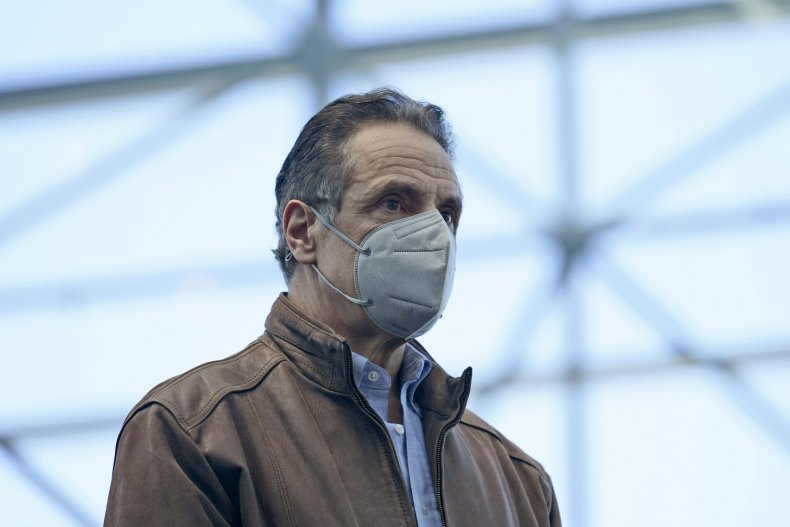 Governor Andrew Cuomo, New York, Sexual Harassment