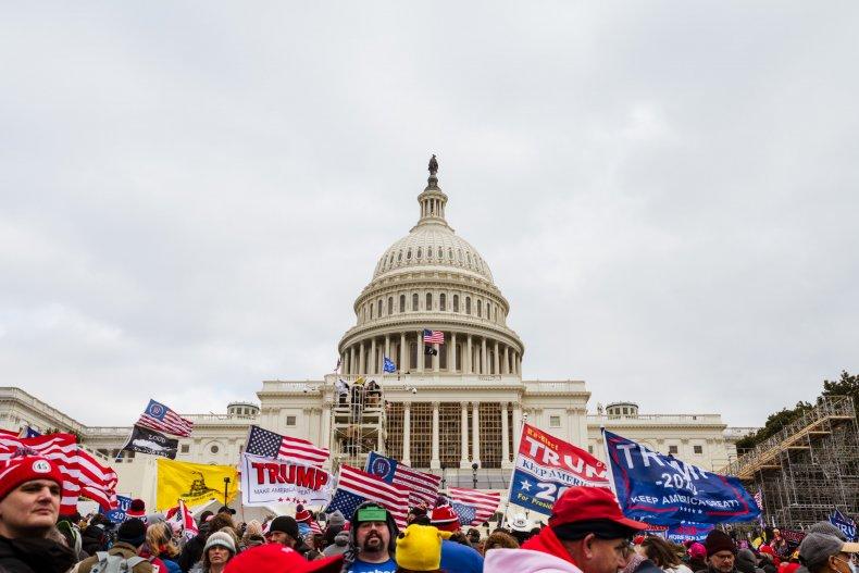 Federico Klein Capitol Riots Donald Trump