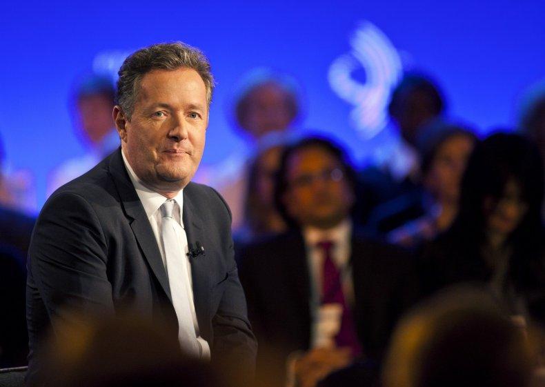 Piers Morgan in New York