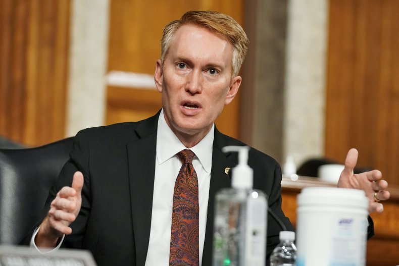 Oklahoma Senator James Lankford