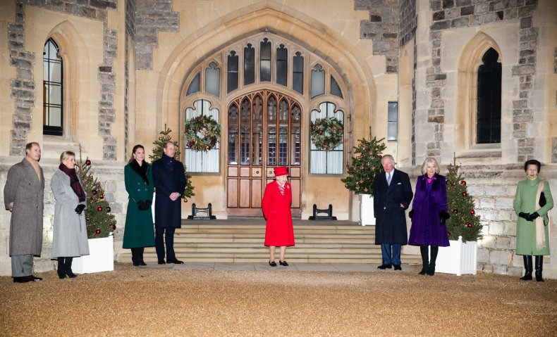 Queen Elizabeth With Not Slimmed Down Monarchy
