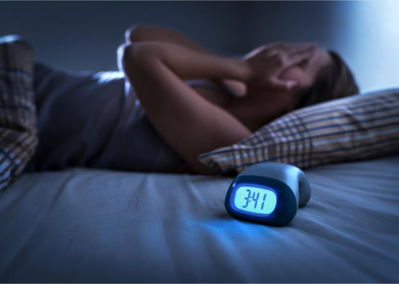 Over 50% of Americans occasionally have disrupted sleep