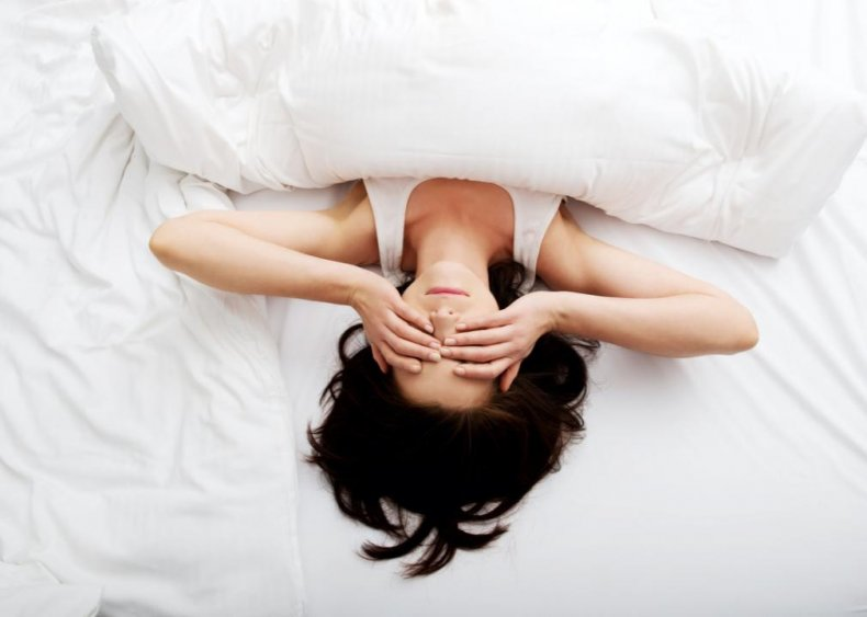 35% of Americans are stressed about family or relationships when they can't sleep