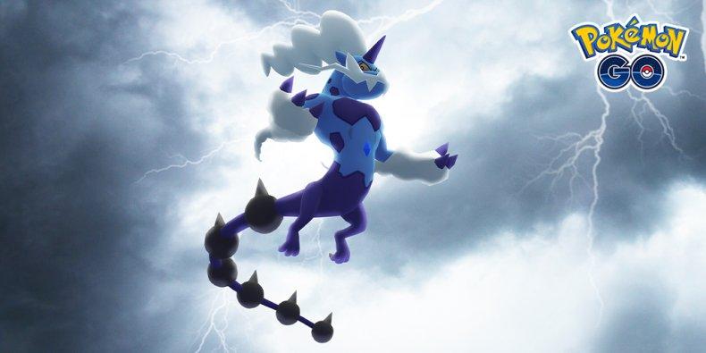 pokemon go thundurus raid therian forme
