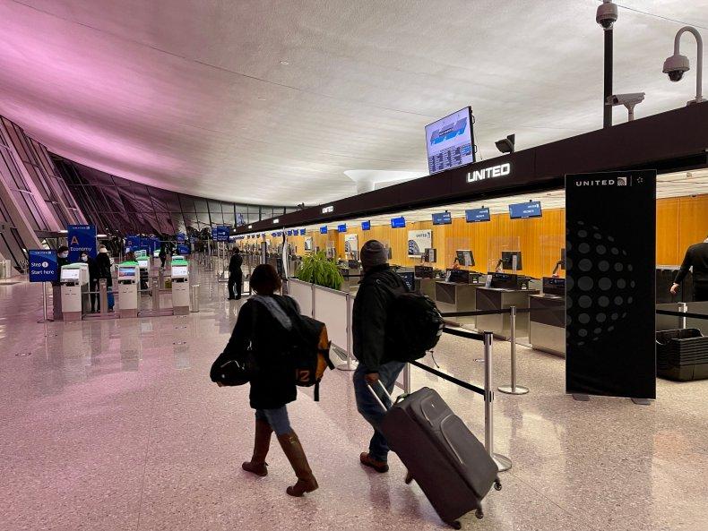Washington Dulles International Airport March 2021