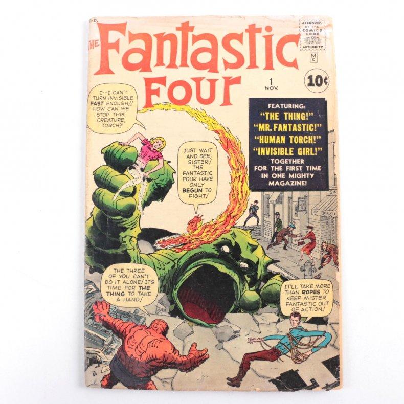 Fantastic Four comic ebth