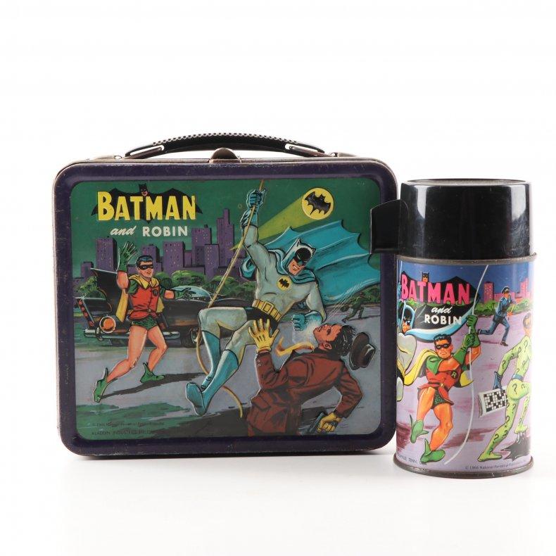 Batman lunchbox ebth