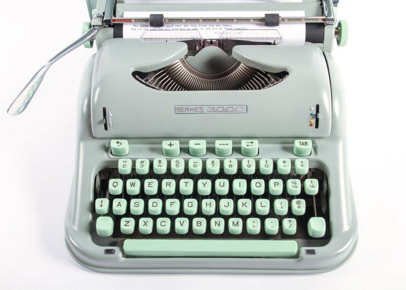 Hermes typewriter ebth