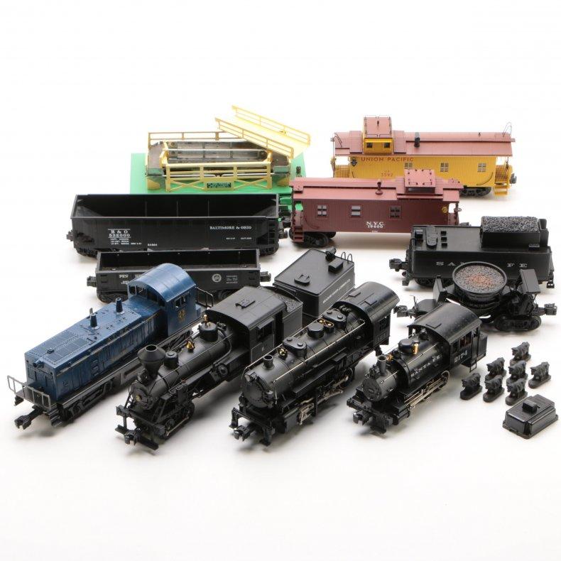 Lionel trains ebth