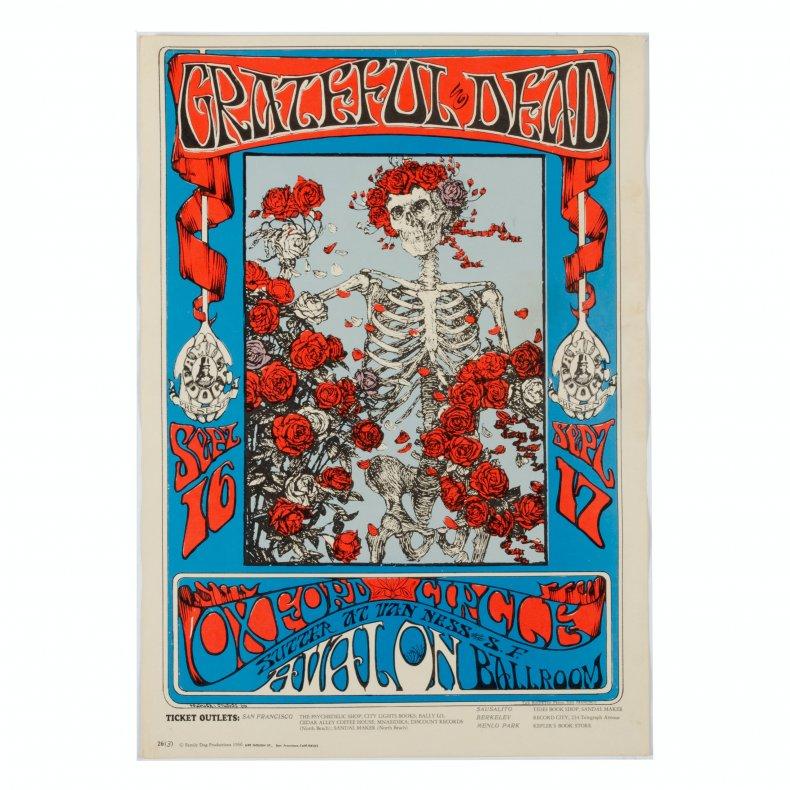 Grateful dead poster ebth