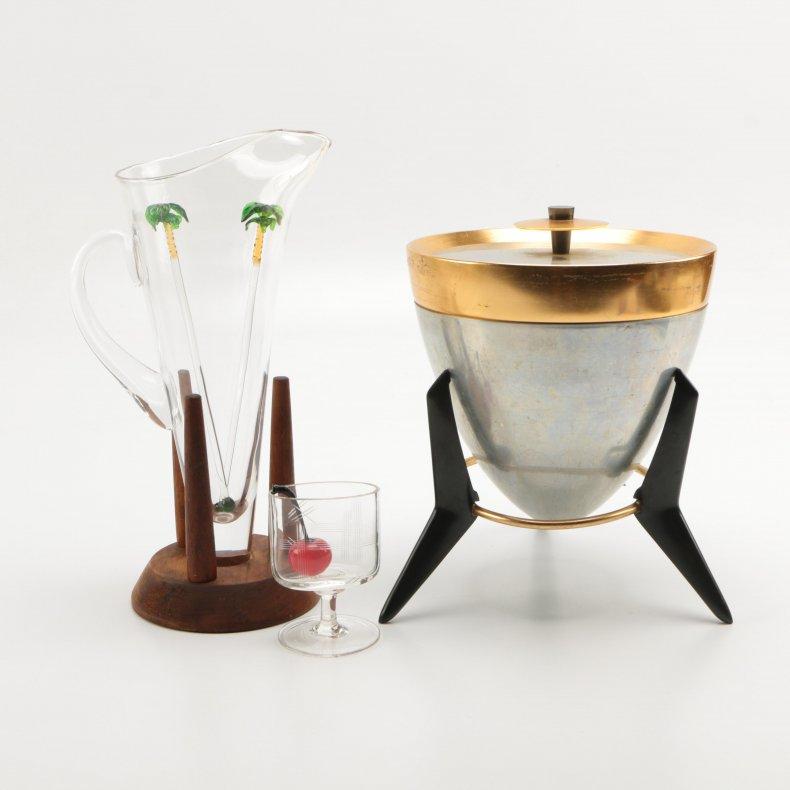 mid-century barware