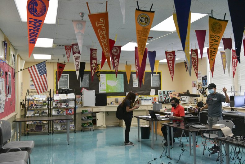 LAUSD school reopening agreement
