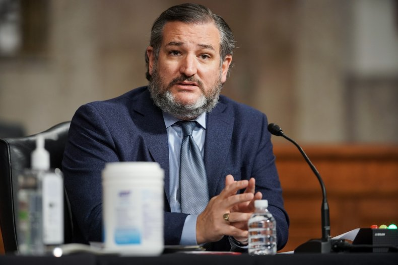 Texas Senator Ted Cruz in Congress