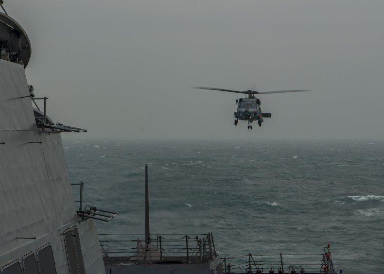 U.S. Navy Warship Transits Taiwan Strait Again