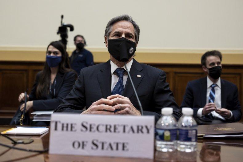 Secretary Antony Blinken Testifies Before House Committee