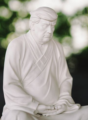 Donald Trump Buddha Statues Sell In China