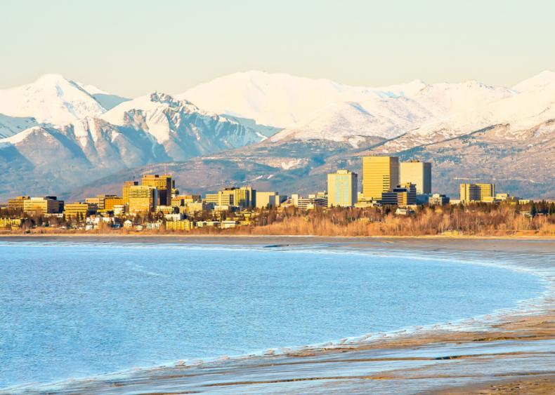 Alaska: Leonard Hyde, Jonathan Rubini and families