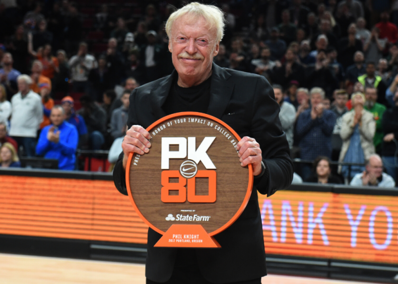 Oregon: Phil Knight and family