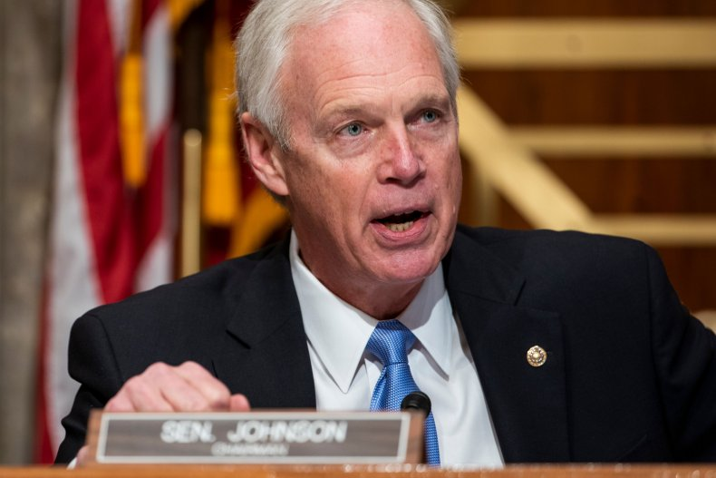 Ron Johnson has not been vaccinated