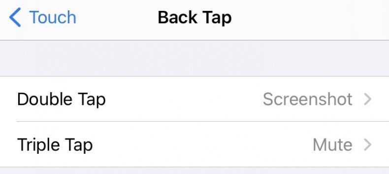 Back Tap