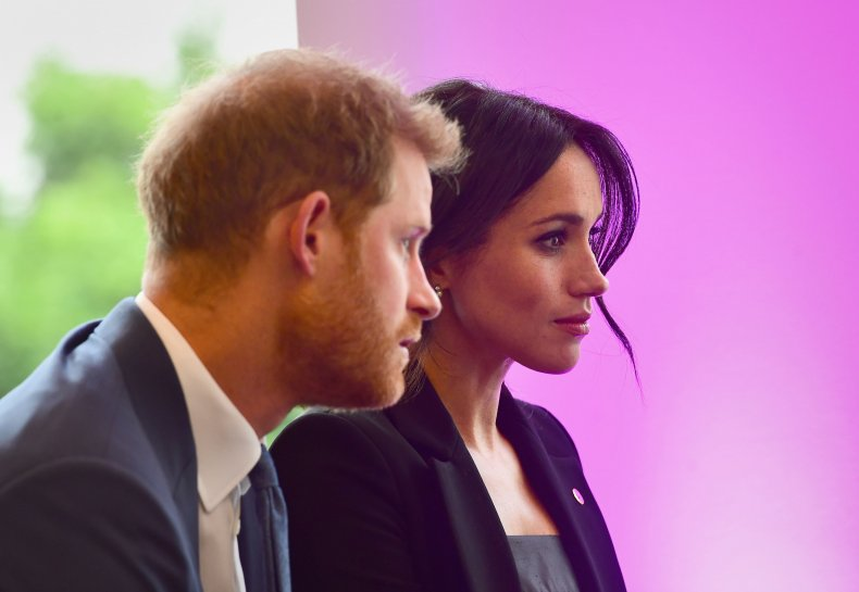 Meghan Markle and Prince Harry WellChild Event