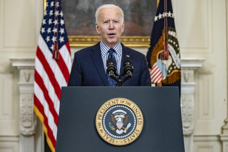 Joe Biden COVID-19 vaccine vaccination plan address