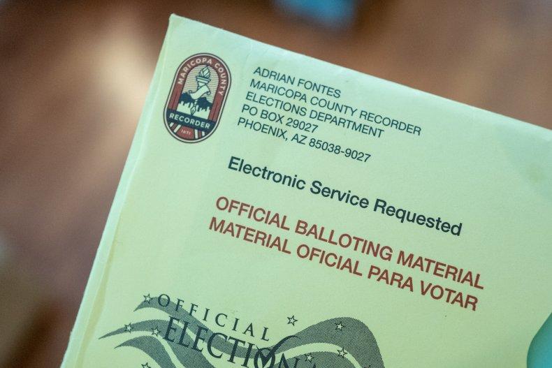 Arizona, Mail-in Ballot, Election