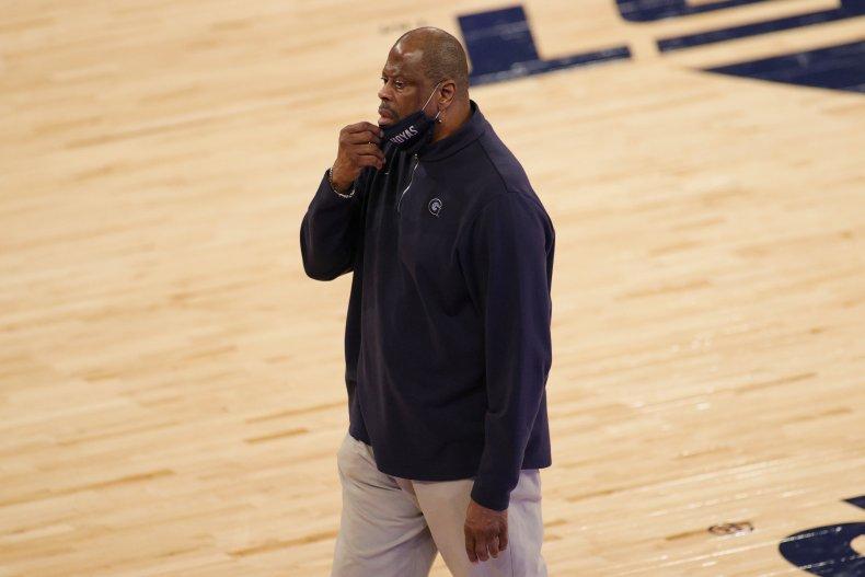 Georgetown head coach Patrick Ewing