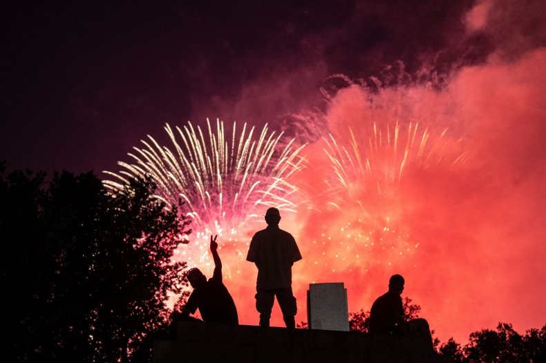 Washington D.C. July 4 2020 fireworks