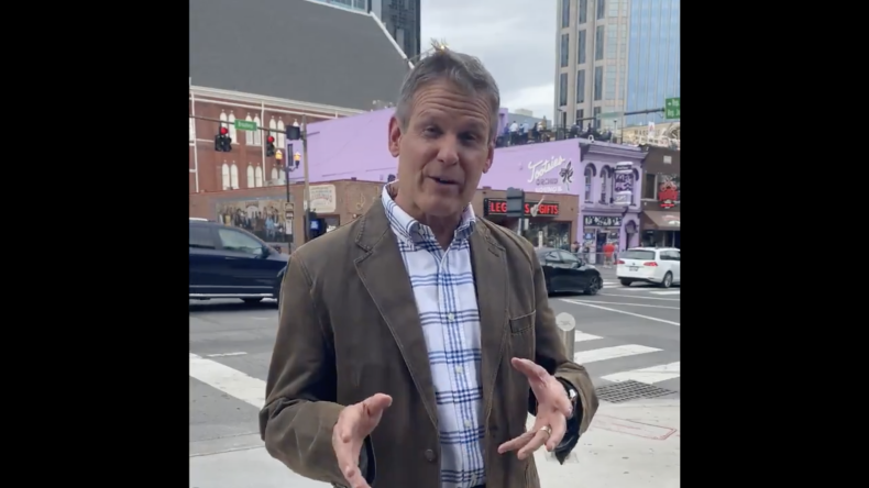 Gov. Bill Lee invites tourists to Tennessee