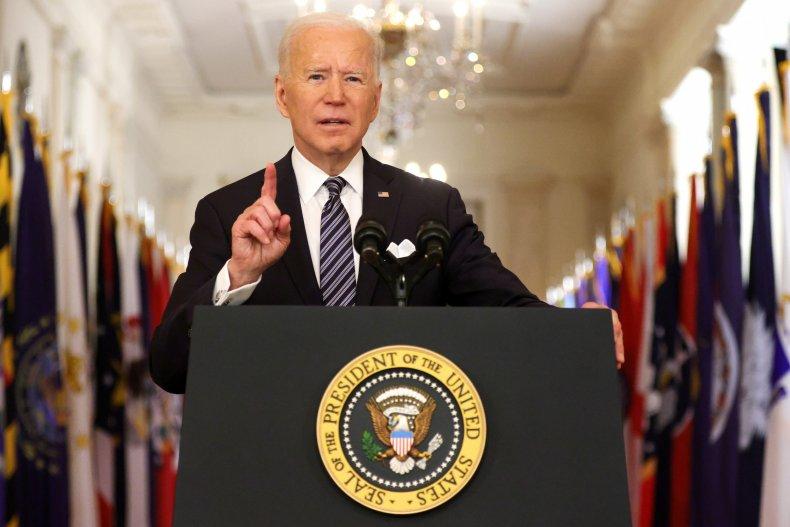 President Joe Biden address to the nation