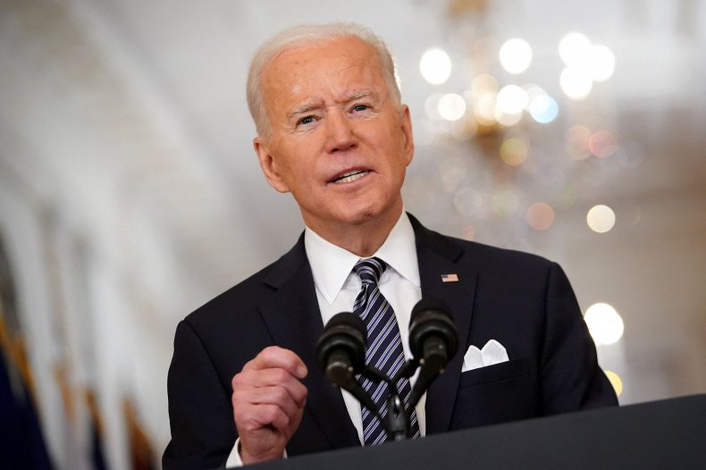 Joe Biden speaks on COVID White House